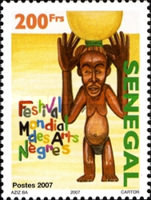 [World Festival of Negra Arts, type BUR]