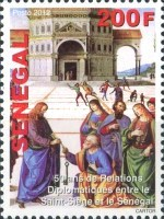 [The 50th Anniversary of Diplomatic Relations with the Vatican, type BVM]