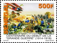 [The 100th Anniversary of the  Beginning of World War I, Typ BWE]