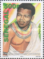 [The 1st Anniversary of the Death of Nelson Mandela, 1918-2013, Typ BWJ]