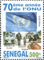 [The  70th Anniversary of the United Nations, type BWT]