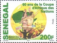 [Football - The 60th Anniversary of Africa Cup of Nations, type BXB]