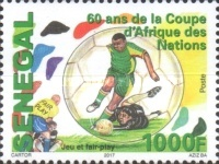[Football - The 60th Anniversary of Africa Cup of Nations, type BXC]