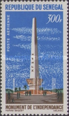 [Airmail - Independence Monument, Typ DK]
