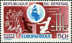 """[Airmail - """"Europafrique"""", type DS]"""