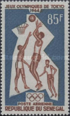 [Airmail - Olympic Games - Tokyo, Japan, type DT]