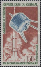 [Airmail - Start of the Synchronous Communications Satellite