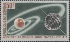 [Airmail - Start of French Space Satellites, type FC]