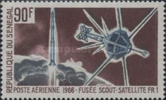 [Airmail - Start of French Space Satellites, type FE]