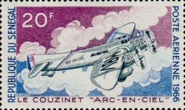 [Airmail - The 30th Anniversary of the Death of Jean Mermoz, 1901-1936, type FU]