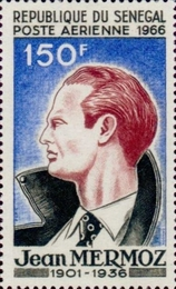 [Airmail - The 30th Anniversary of the Death of Jean Mermoz, 1901-1936, type FX]