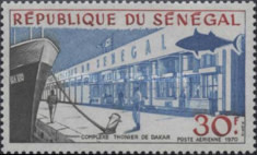 [Airmail - Industrial and Urban Development of Dakar, Typ JE]