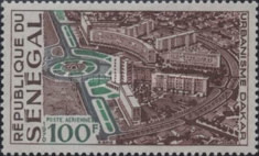 [Airmail - Industrial and Urban Development of Dakar, Typ JF]