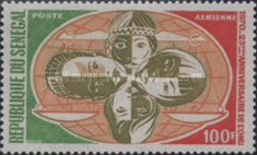 [Airmail - The 25th Anniversary of the United Nations, Typ JI]