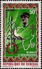 [Airmail - Charles de Gaulle Commemoration, 1890-1970, Typ JQ]