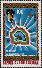 [Airmail - Charles de Gaulle Commemoration, 1890-1970, Typ JR]