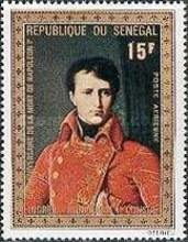 [Airmail - The 150th Anniversary of the Death of Napoleon, 1769-1821, Typ KG]