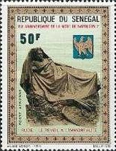 [Airmail - The 150th Anniversary of the Death of Napoleon, 1769-1821, Typ KJ]
