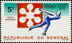 [Airmail - Winter Olympic Games - Sapporo, Japan, Typ KY]