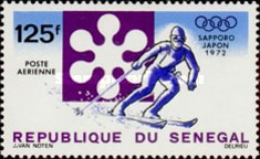 [Airmail - Winter Olympic Games - Sapporo, Japan, Typ LA]