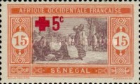[Red Cross - Market Stamp of 1914 Surtaxed, type M18]