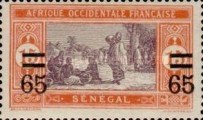 [Market Stamps of 1914 & 1922 Surcharged and Not Issued Market Stamps Surcharged, Typ M40]