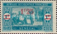 [Market Stamps of 1914 & 1922 Surcharged and Not Issued Market Stamps Surcharged, Typ M44]