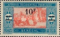 [Market Stamps of 1914 & 1922 Surcharged and Not Issued Market Stamps Surcharged, Typ M47]