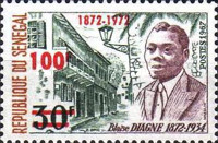 [The 100th Anniversary of the Birth of Blaise Diagne, 1872-1934, Typ MD]