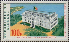 [Airmail - Palace of the Republic, type MK]