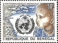 [The 100th Anniversary of World Meteorological Organization or WMO, type NA]