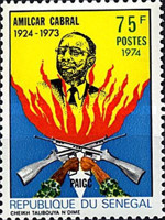 [The 50th Anniversary of the Birth of Amilcar Cabral, 1924-1973, Typ NJ]