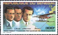 [Airmail - The 50th Anniversary of First South Atlantic Airmail Flight, Typ VA]