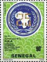[The 25th Anniversary of Economic Commission for Africa, Typ XH]