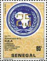 [The 25th Anniversary of Economic Commission for Africa, Typ XI]