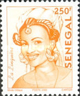 [Senegalese Elegance - The Peulh Woman, type XNS1]