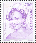 [Senegalese Elegance - The Peulh Woman, type XNS15]