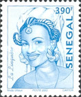 [Senegalese Elegance - The Peulh Woman, type XNS6]