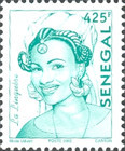 [Senegalese Elegance - The Peulh Woman, type XNS7]