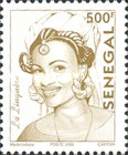 [Senegalese Elegance - The Peulh Woman, type XNS8]