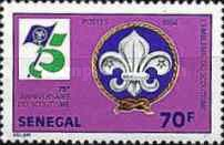 [The 75th Anniversary of Boy Scout Movement, Typ XO]
