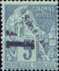 [French Colonies - General Issues No. Surcharged & Overprinted