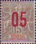 [Navigation & Commerce Stamps of 1892 & 1900 Surcharged, type XYD]