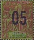 [Navigation & Commerce Stamps of 1892 & 1900 Surcharged, type XYD2]