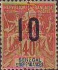 [Navigation & Commerce Stamps of 1892 & 1900 Surcharged, type XYD6]