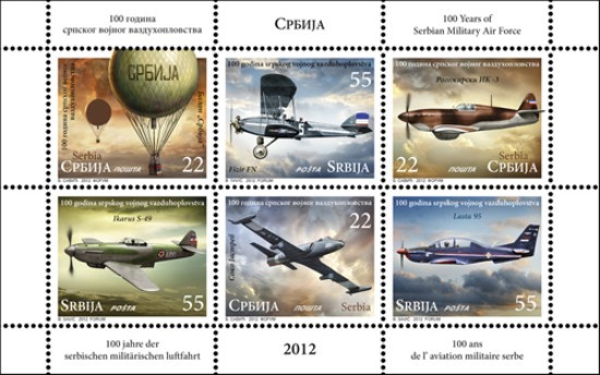 [The 100th Anniversary of the Serbian Military Air Force, type ]