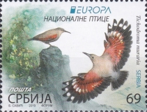 [EUROPA Stamps - National Birds, type ABX]