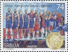 [Serbia - European Volleball Champion 2019, type ADF]