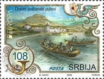[EUROPA Stamps - Ancient Postal Routes, type AEI]