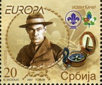 [EUROPA Stamps - The 100th Anniversary of Scouting, type BR]
